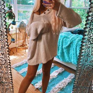 Sweaters - Chunky Ella Henley